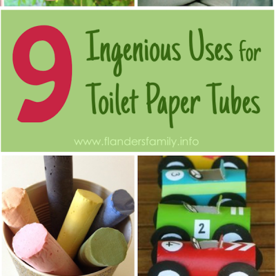 9 Ingenius Uses for Toilet Paper Tubes