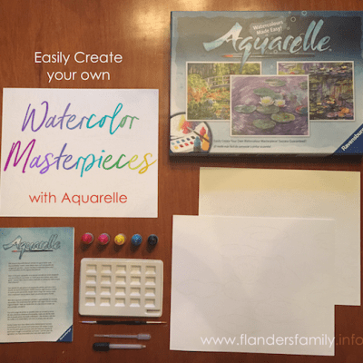 Create Your Own Watercolor Masterpieces (Timberdoodle Review)
