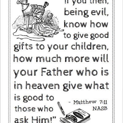 Giving Good Gifts to Children