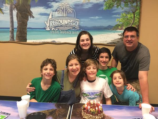 Our Birthday Bash at Rebounderz in Apopka, FL