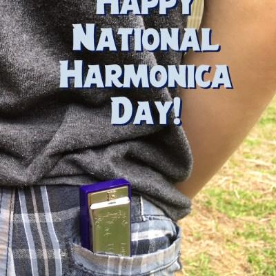 Happy National Harmonica Day!