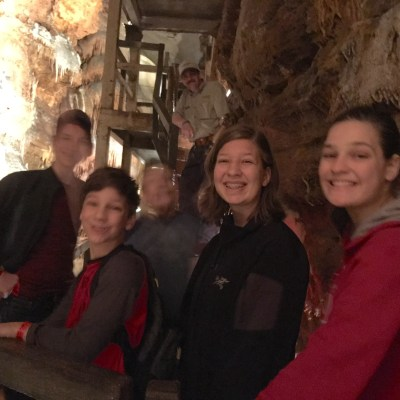 Exploring Talking Rocks Caverns