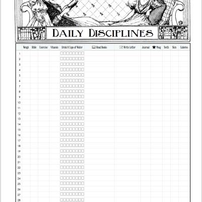 Time Management & Habit Tracking Printables