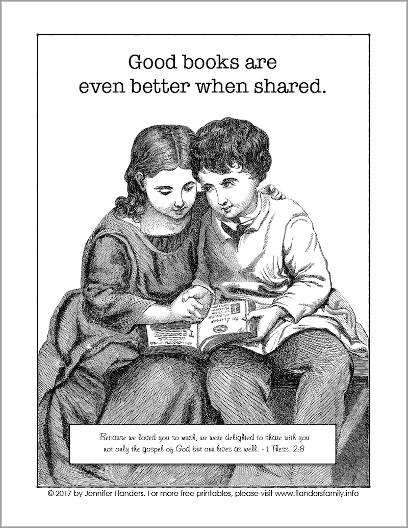 Good Books are Better when Shared