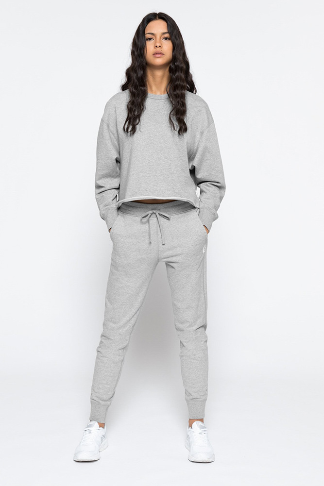 building a capsule wardrobe: reigning champ sweatpants
