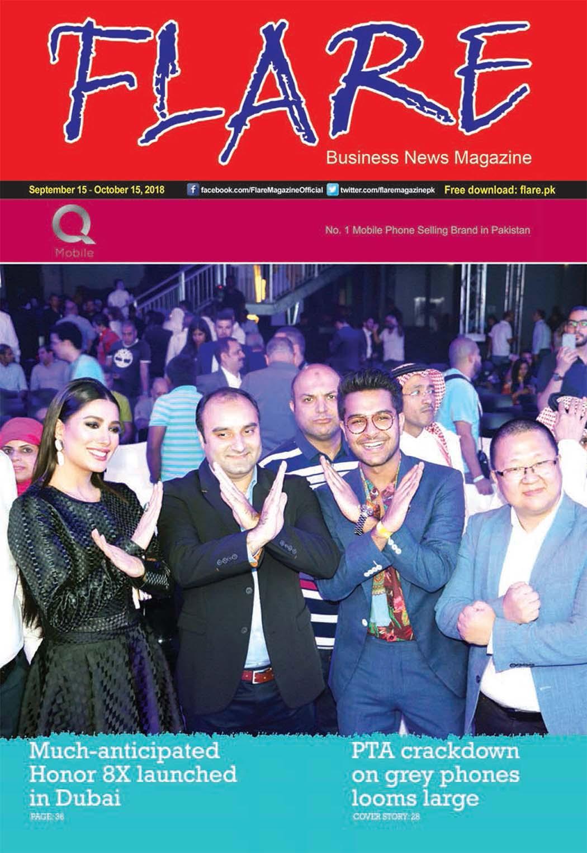 Flare Magazine October 2018 Issue