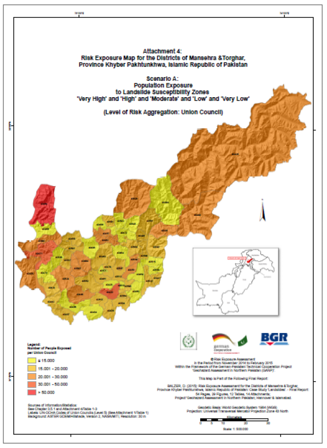 Map Of Germany Natural Resources.Germany Supports The Disaster Risk Reduction In Pakistan Flare