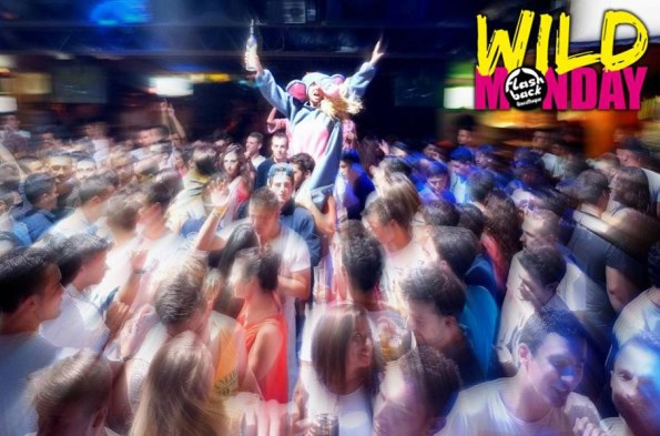 Wild Monday - Fiestas Flash Back Salou