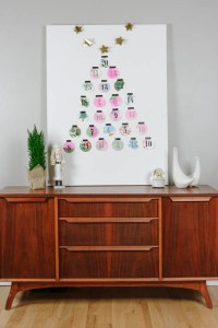 How To Make A Simple Up-Cycle Advent Calendar
