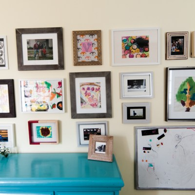 5 Simple Ways to Organize Kids' Artwork