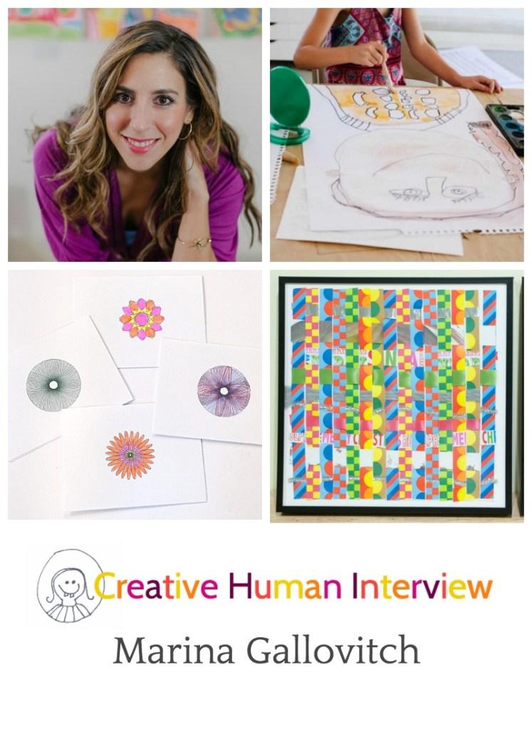 Creative human interview with Marina Gallovitch