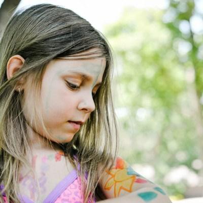 What Happens When Your Children Make Body Art