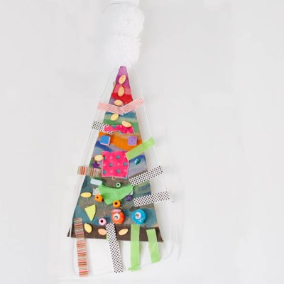 Make Adorable Christmas Tree Mobiles: Art Workshop for Children