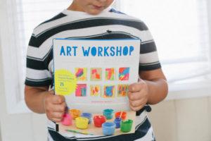 Art Workshop for Children, Christmas Tree Mobiles