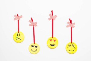 Easy Emoji DIY Ornament Craft For Kids