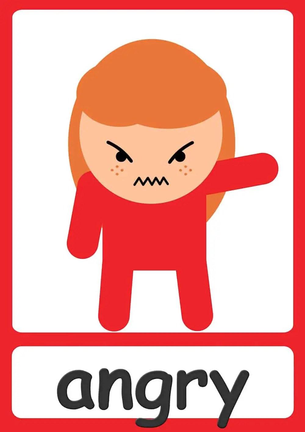 Feelings Flashcards Teach Feelings Emotions Free Printables