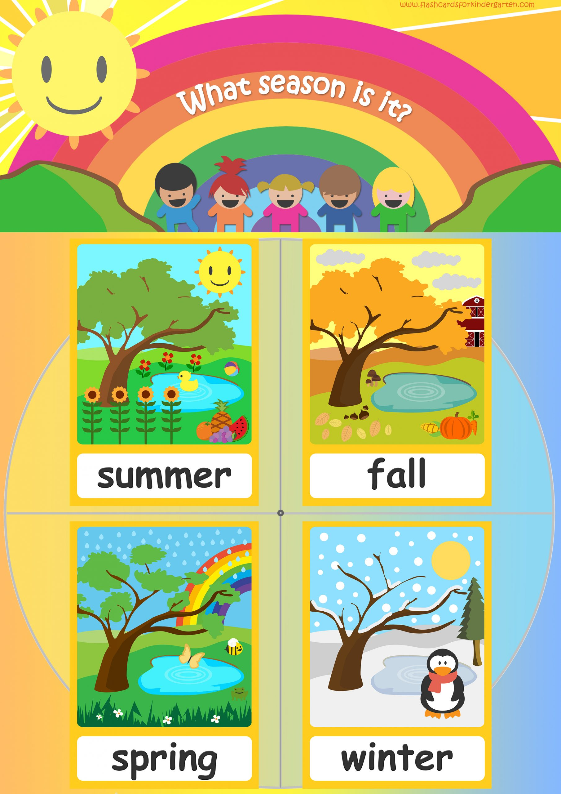 Seasons Flashcards