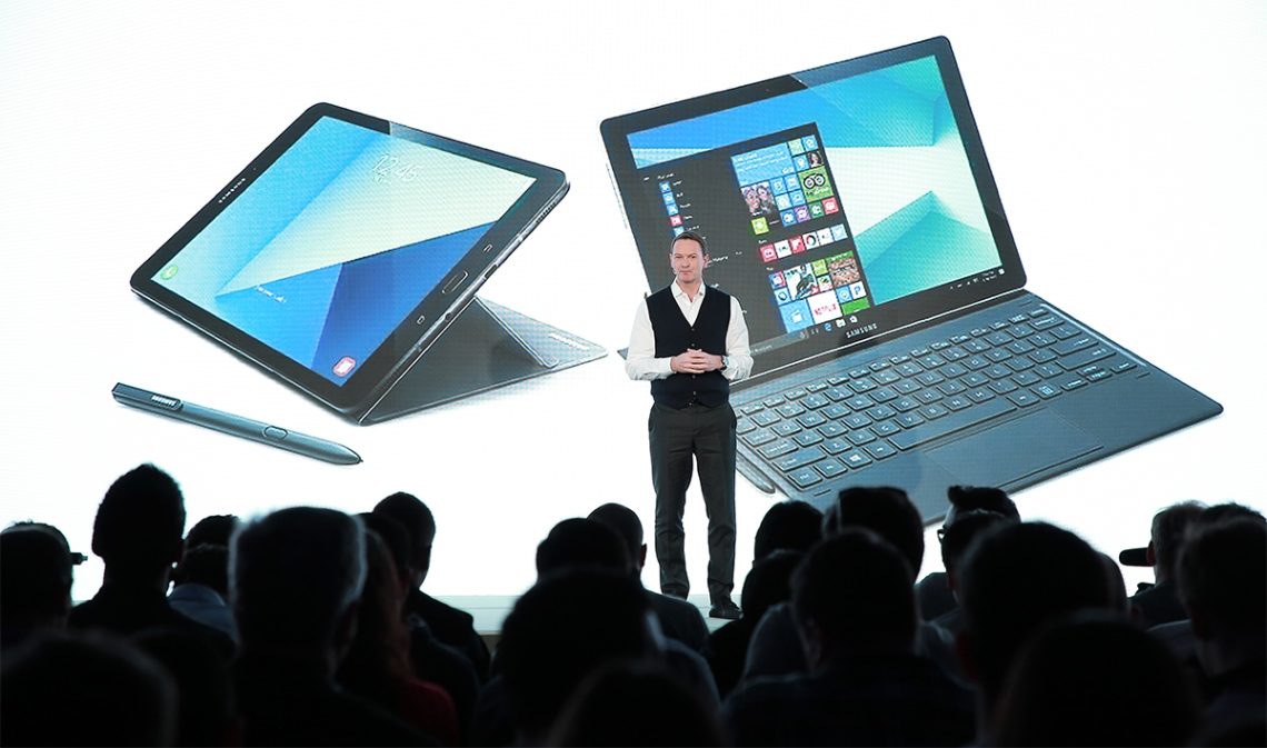 Samsung Expands Tablet Portfolio with Galaxy Tab S3 and Galaxy Book