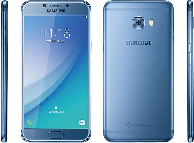 Blue-Samsung-Galaxy-C5-Pro