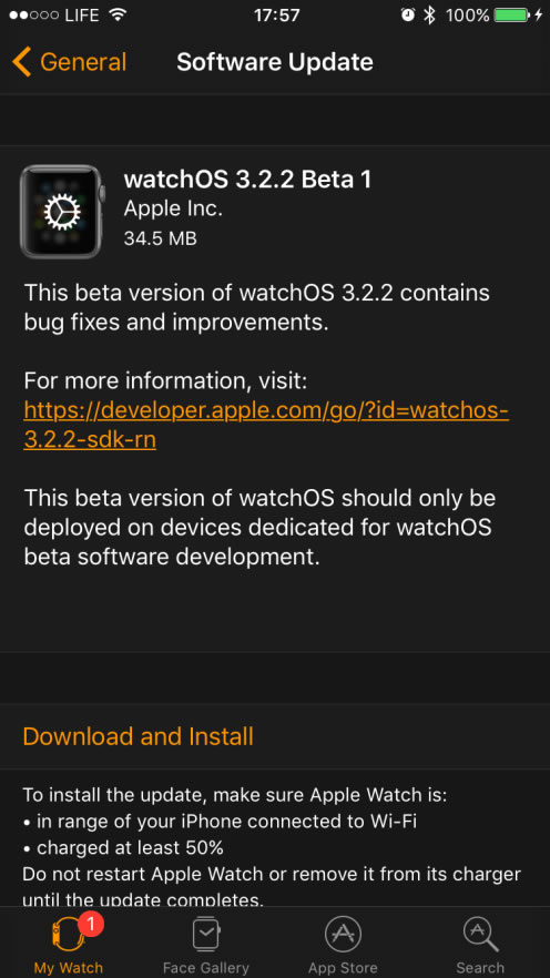 watchOS-3-2-2-beta-1