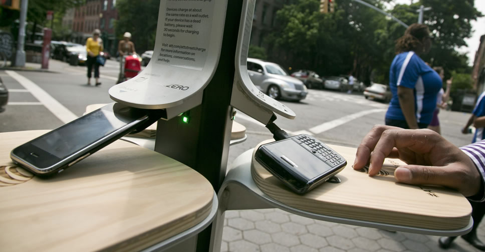 Public-Phone-Charger