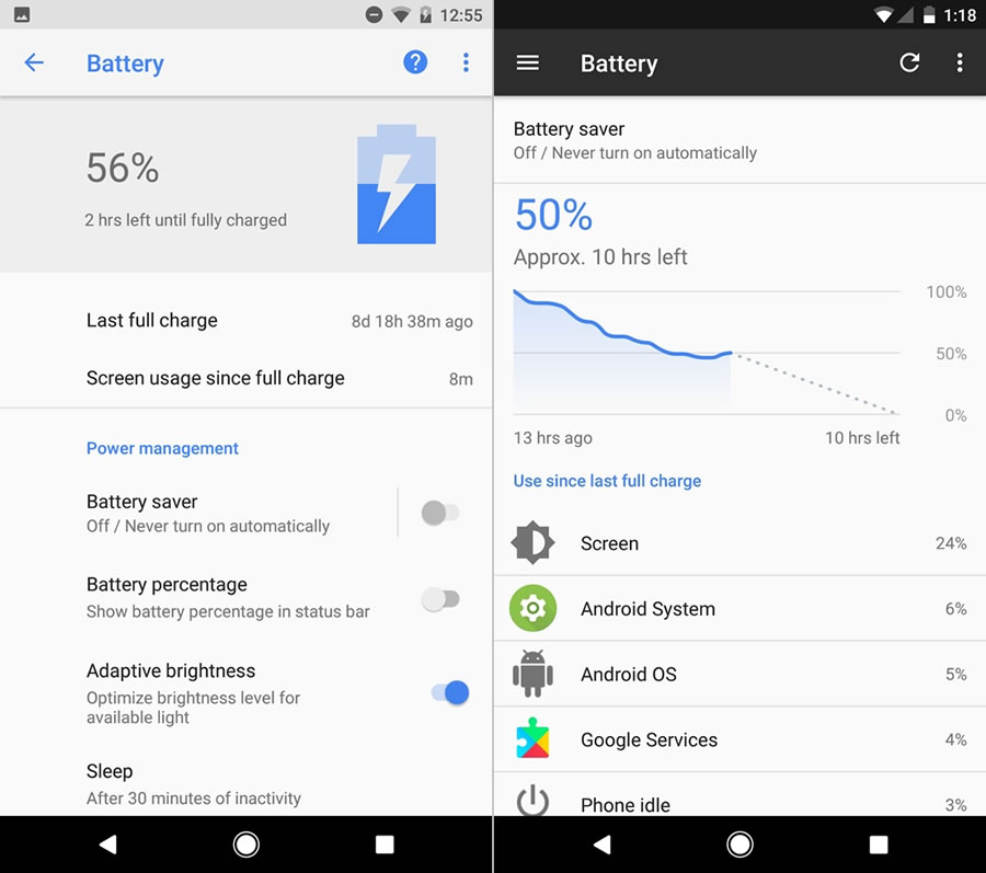 android-o-battery