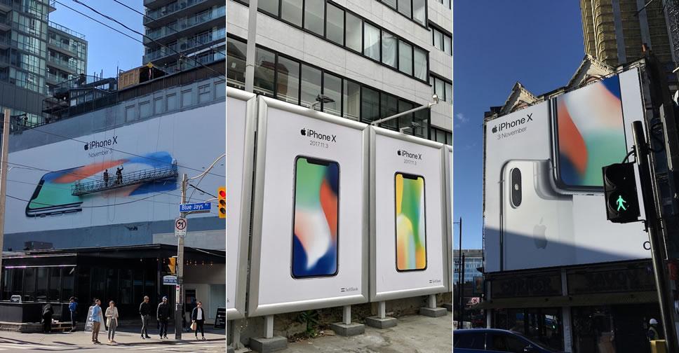 iPhone-X-Billboards