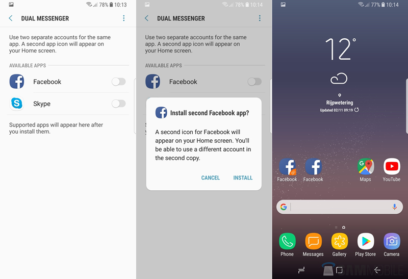 whats-new-oreo-dual-messenger