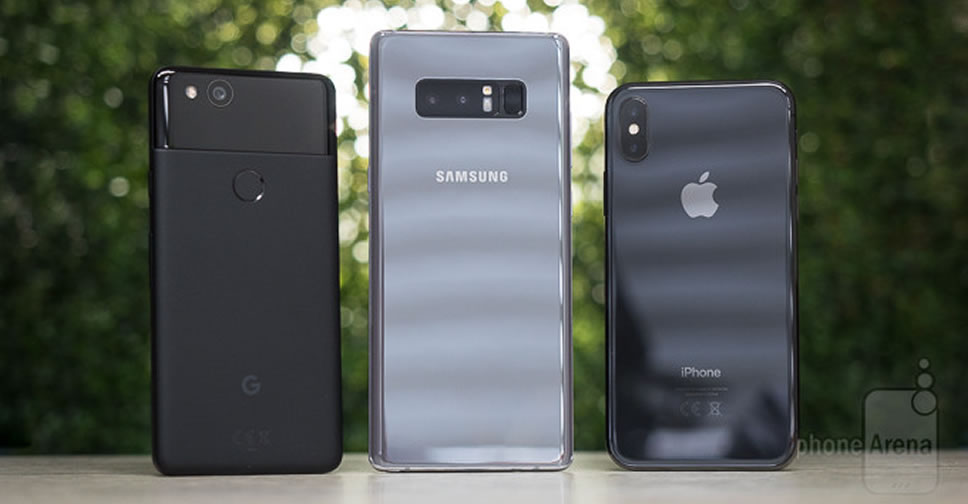 iPhone-X-vs-Galaxy-Note-8-vs-Pixel-2