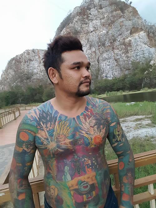 Dragon Ball Tattoo