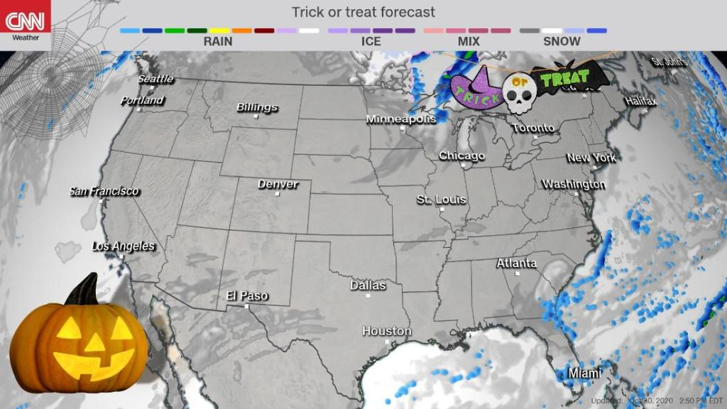 An ideal forecast with an extra special full moon for Halloween