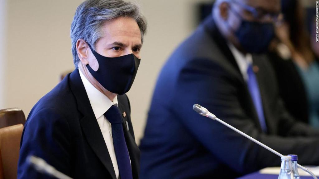 Blinken warns China of need to respect global order or face a 'more violent world' at first meeting