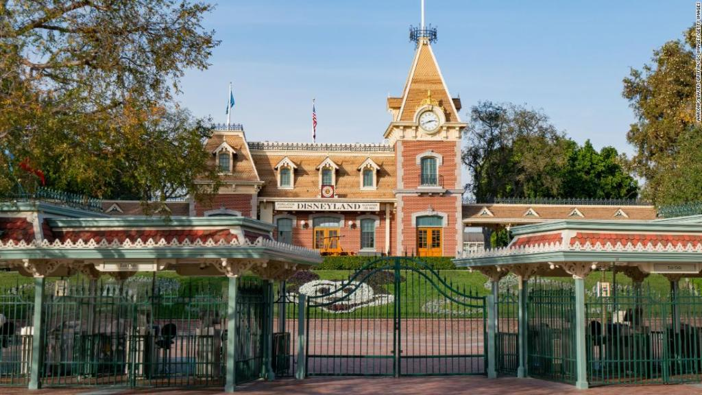 California's Disneyland Resort has now opened as a 'super' Covid-19 vaccination site