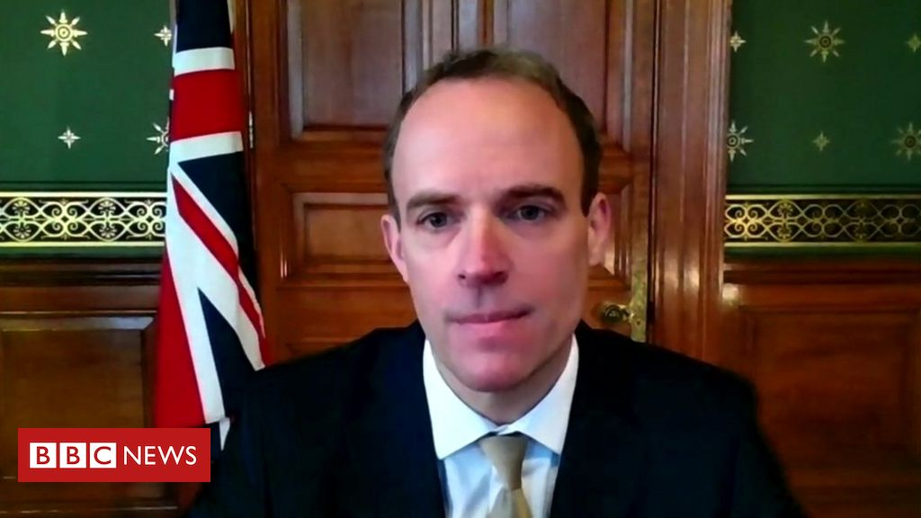 Covid-19: Beating September vaccine target for all over-18s would a 'bonus' - Raab