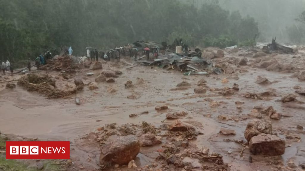 Dozens feared dead in India landslide after floods