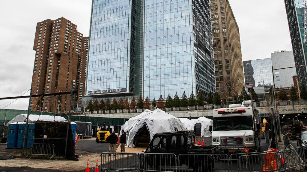 For the first time since 9/11, NYC sets up makeshift morgues in anticipation of coronavirus deaths