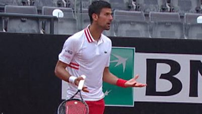 'I got upset & lost my cool' - Djokovic shouts at umpire over playing conditions