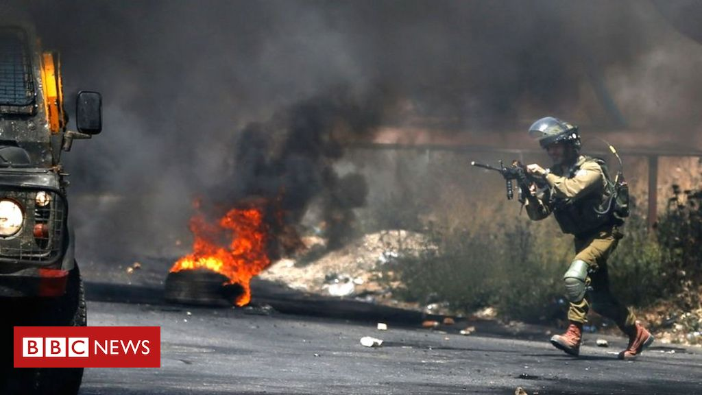Israel Gaza violence: Clashes spread to West Bank
