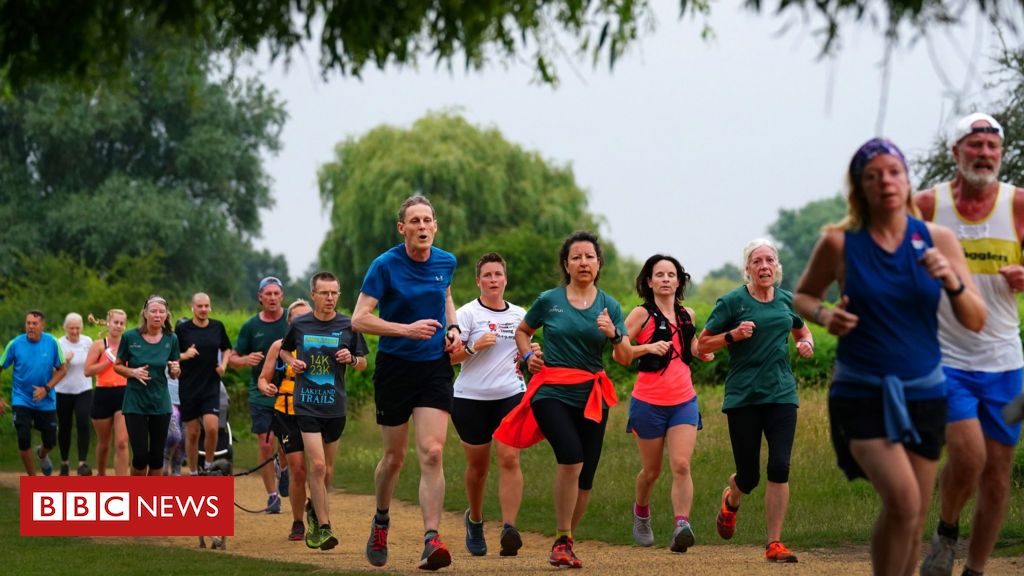 Joggers and walkers' joy as England Parkrun resumes