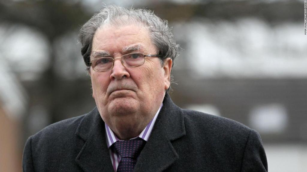 John Hume, architect of Good Friday Agreement and Nobel Laureate, dies at 83