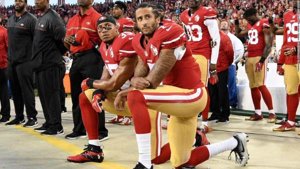 Kaepernick among sporting figures to pay tribute to George Floyd