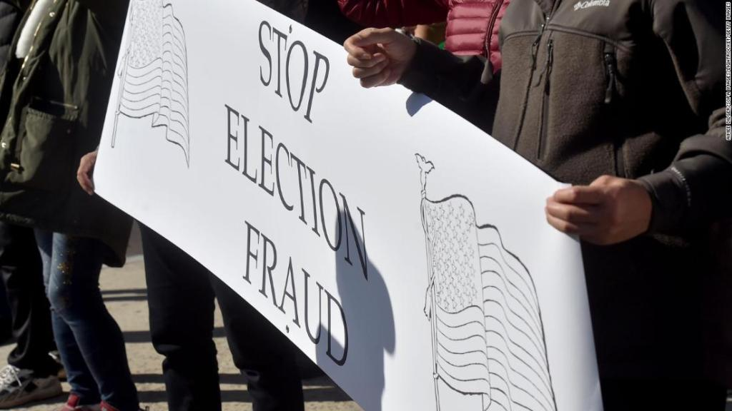 Lawyers sanctioned for 'conspiracy theory' election fraud lawsuit