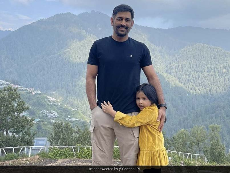 MS Dhonis New Look In Pic With Daughter Ziva Sends Fans Into A Tizzy