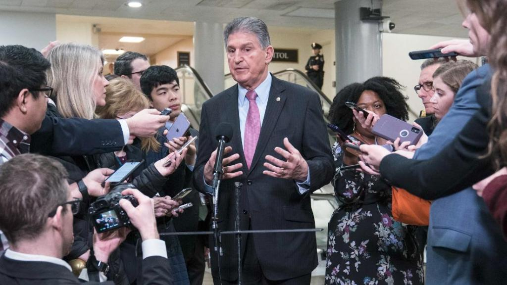 Bash: Manchin knows he's the most powerful person in the world