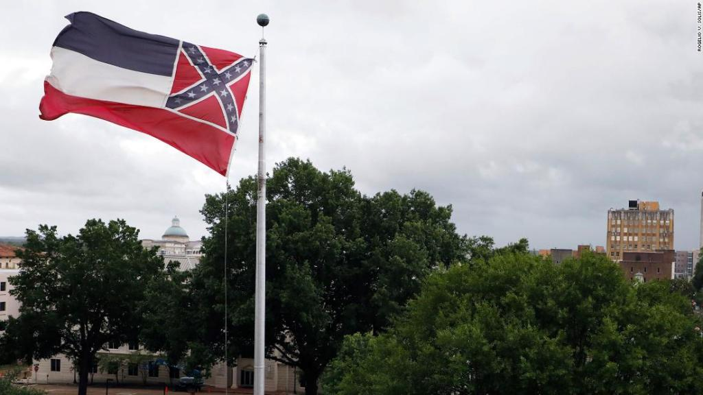 Mississippi governor to sign bill removing Confederate emblem from state flag