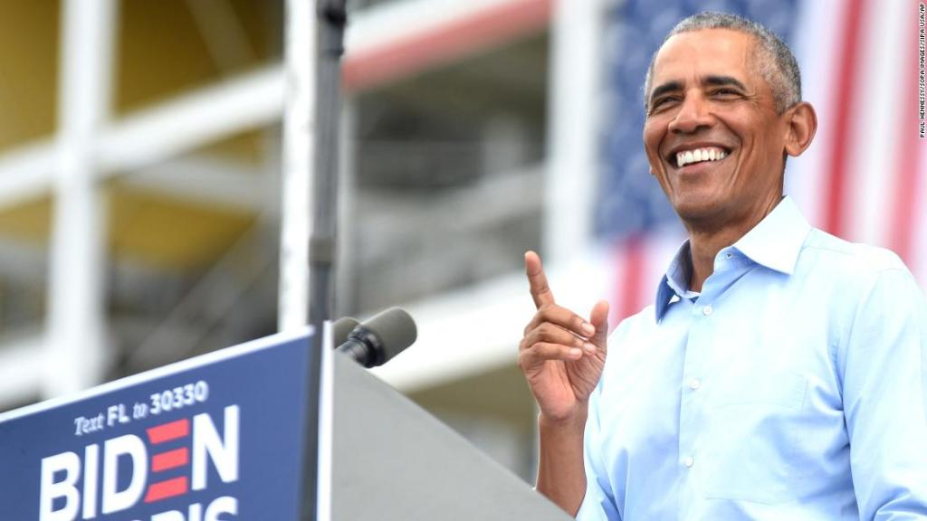 Obama offers 'personal testimonial' for Biden at first joint event of campaign