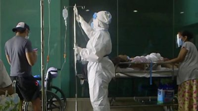 Medical staff in full PPE