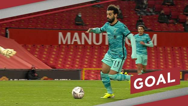 Salah's deft finish gives Liverpool the lead