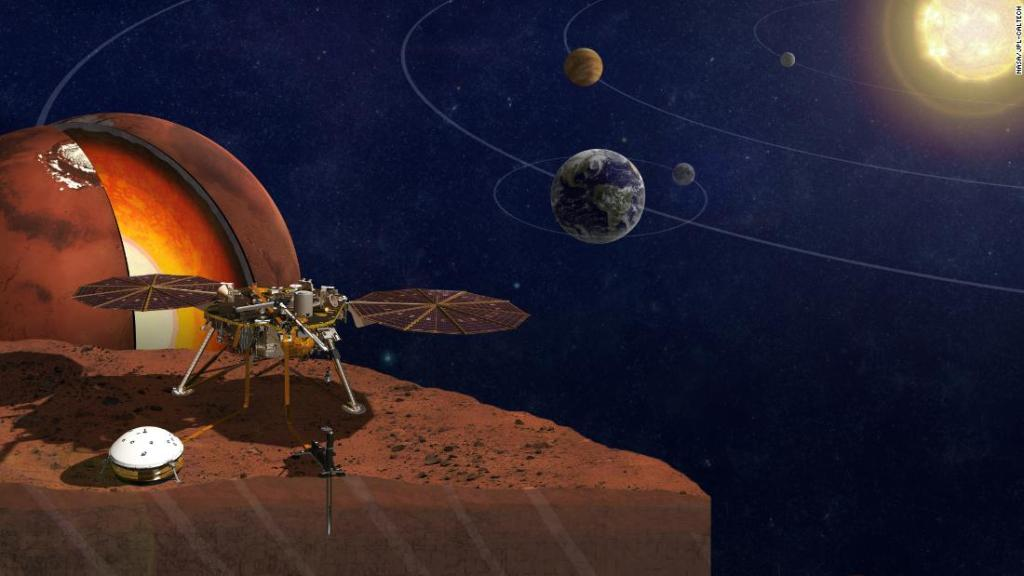 Secrets of Mars' core revealed for the first time