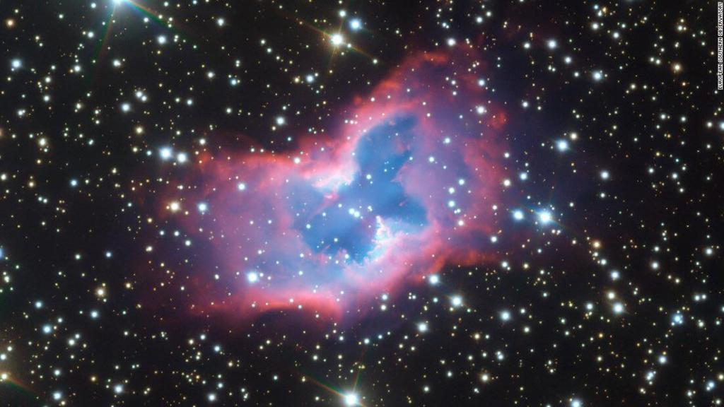 See the 'space butterfly' astronomers captured from thousands of light years away